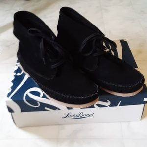 Brand new suede moccasin booties